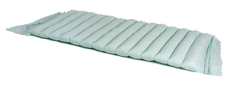 Anti-decubitus overlay mattress / for hospital beds / hollow silicone fiber KM19 Antano Group