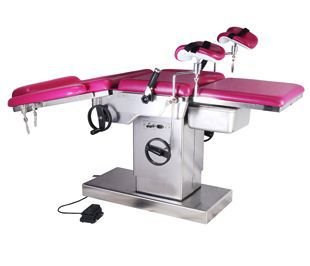 Gynecological examination table / electro-pneumatic / height-adjustable / 3-section BIDE004A BI Healthcare