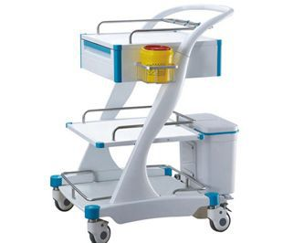 Transfer trolley / dressing / stainless steel BITL005A BI Healthcare