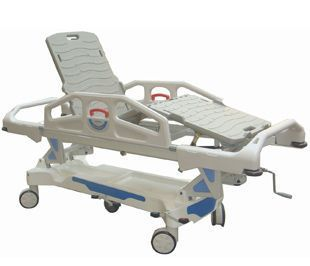 Transfer stretcher trolley / height-adjustable / mechanical / 3-section BIT-MP001M BI Healthcare