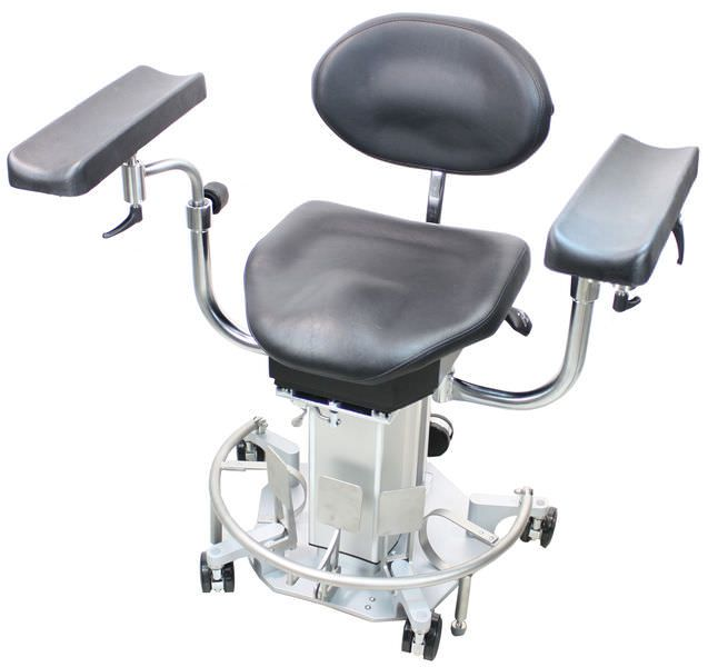 Medical stool / surgery / on casters / height-adjustable AK 480 akrus