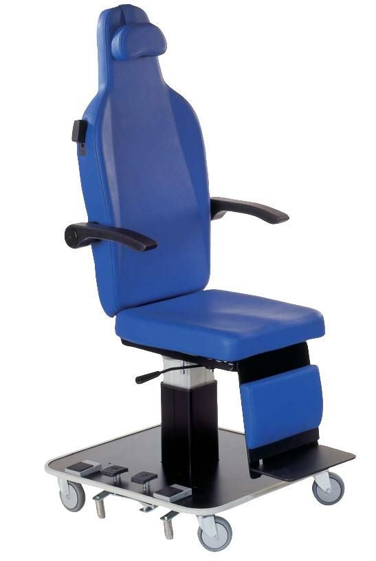 Mammography examination chair / electrical / height-adjustable / 3-section AK 5003 M akrus