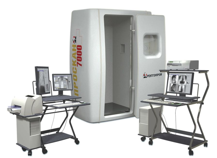 Radiography system (X-ray radiology) / digital / for chest radiography / without table PROSCAN AMICO JSC