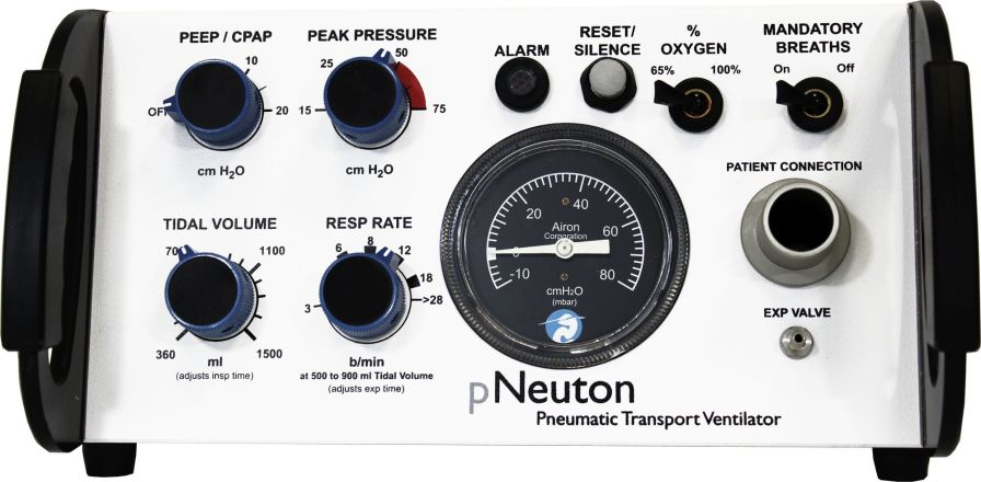 Resuscitation ventilator / CPAP pNeuton model A Airon Corporation