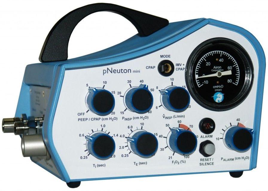 Emergency ventilator / transport / CPAP / with adjustable PEEP pNeuton mini Airon Corporation