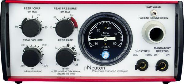 Resuscitation ventilator / CPAP pNeuton model S Airon Corporation
