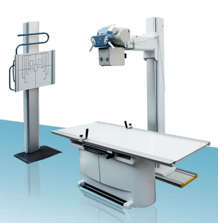 Radiography system (X-ray radiology) / digital / for multipurpose radiography / with vertical bucky stand X-RAY DIGITAL ARCOM