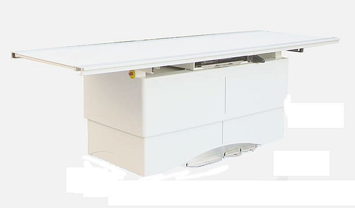 Height-adjustable radiography table / electrical / with table ARCOM