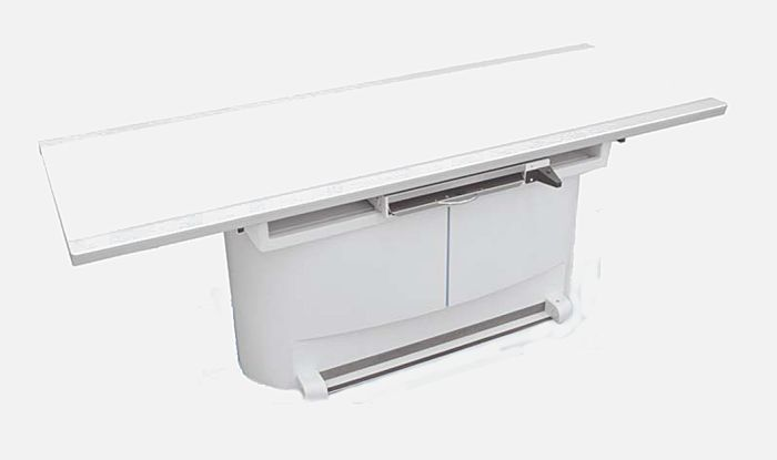 Height-adjustable radiography table / electrical / with table AIN ARCOM