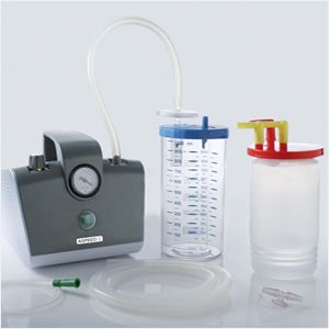 Electric surgical suction pump / handheld 15 - 22 l/mn | ASPEED 2 PROFESSIONAL 3A Health Care
