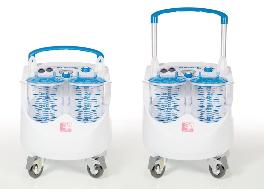 Electric surgical suction pump / on casters 60 l/mn | MAXIASPEED 3A Health Care