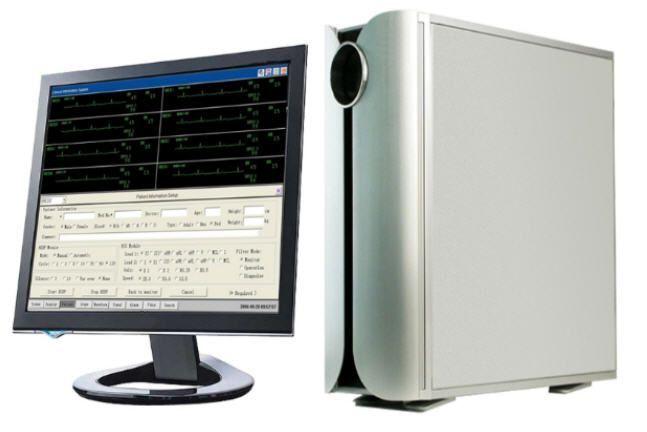 Patient central monitoring station / 32-bed AV-CM AMBISEA