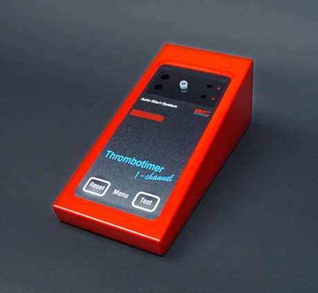 Semi-automatic coagulation analyzer / 4-channel Thrombotimer Behnk Elektronik