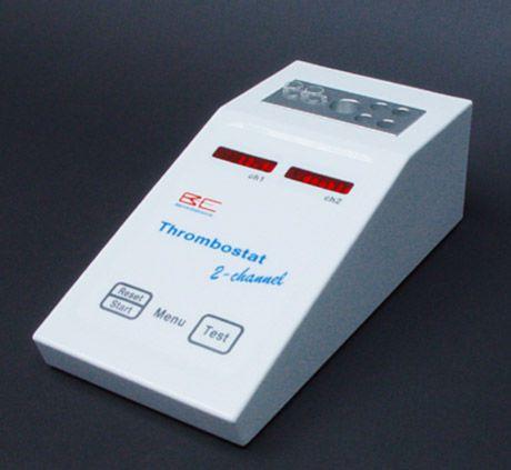 Semi-automatic coagulation analyzer / 2-channel Thrombostat Behnk Elektronik