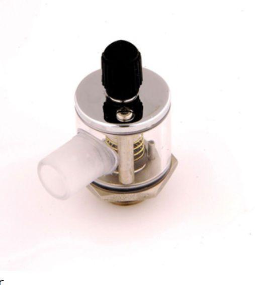 Anesthetic gas scavenging valve -valve- A.M. Bickford
