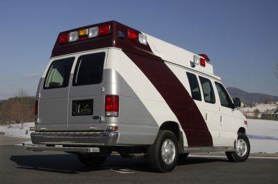 Emergency medical ambulance / type II / van Ford E350 K5 TraumaHawk American Emergency Vehicles