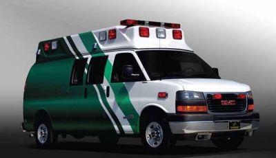 Emergency medical ambulance / type II / van GM G2 TraumaHawk American Emergency Vehicles
