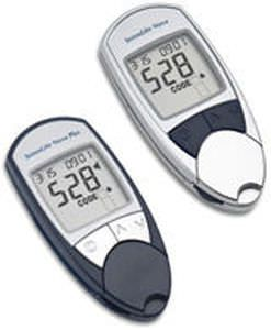 Blood glucose meter with speaking mode SENSOLITE NOVA 77 Elektronika