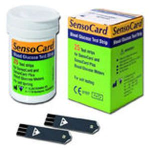 Blood glucose test strip SENSOCARD TEST 77 Elektronika