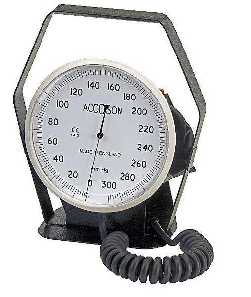 Dial sphygmomanometer 0 - 300 mmHg | 6 INCH A C COSSOR & SON
