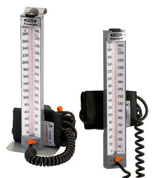 Mercury sphygmomanometer / wall-mounted 0 - 300 mmHg | Freestyle A C COSSOR & SON