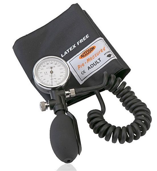 Hand-held sphygmomanometer 0 - 300 mmHg | Duplex A C COSSOR & SON