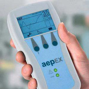 Depth of anesthesia monitor aepEX Barkey