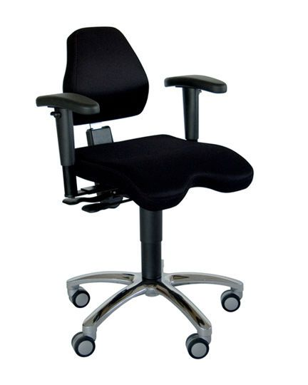 Office chair / on casters / with armrests ComfortMove Back Quality Ergonomics (BQE)