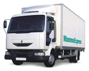 Mobile digital mammography room MAMMOEXPRESS ADANI