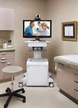 Telemedicine cart TMP-800 AVTEQ