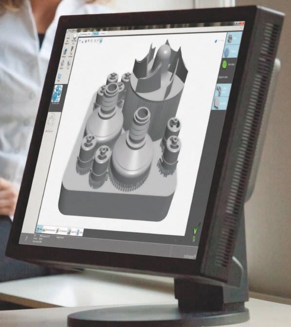 CAD software / CAM / prosthesis fabrication / dental laboratory CAMbridge™ 3shape