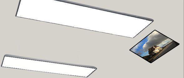 Ceiling-mounted lighting / dental / for healthcare facilities / LED ALBEDO MEDIA-LIGHT Degré K
