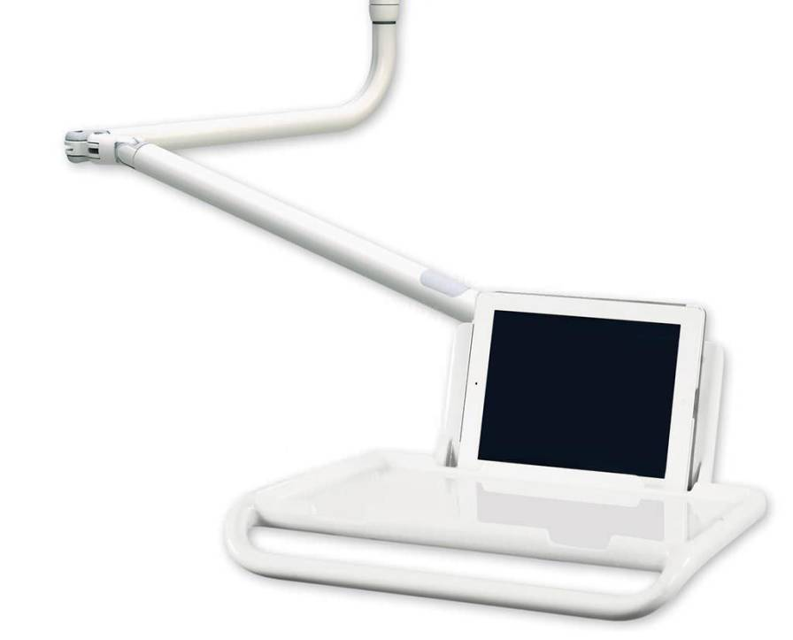 Medical monitor support arm / wall-mounted AMTRA D.I.D. Dental Instrument Design S.r.l.