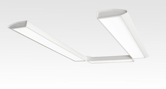 Ceiling-mounted lighting / dentist office Primo U D-TEC