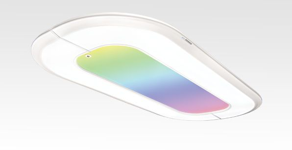 Ceiling-mounted lighting / for healthcare facilities Denta Hybrid D-TEC