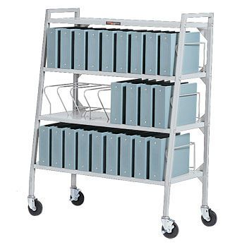 Medical record trolley / vertical-access Design-A-Line® 3476-00 Carstens