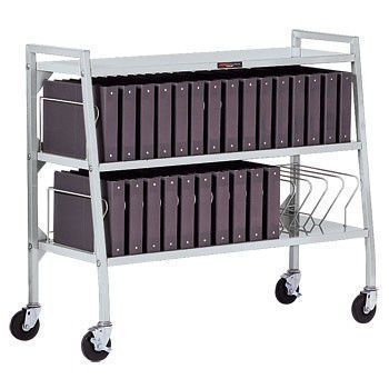 Medical record trolley / vertical-access Design-A-Line® 3181-00 Carstens