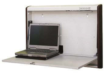 Medical computer workstation / wall-mounted / recessed WALLaroo® XW Carstens