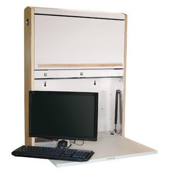 Medical computer workstation / wall-mounted / recessed WALLAroo® XXTD Carstens