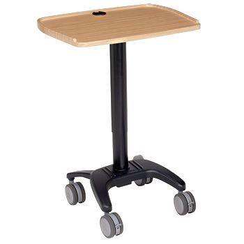Medical computer cart WALKAroo™ 6430 - Bamboo Carstens
