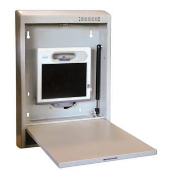 Medical computer workstation / recessed / wall-mounted Half-a-Roo 2000™ Carstens