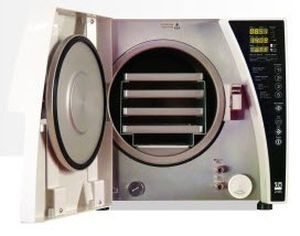 Medical autoclave / dental / automatic / with fractionated vacuum 17 L | DX24 B DENTAL X SPA