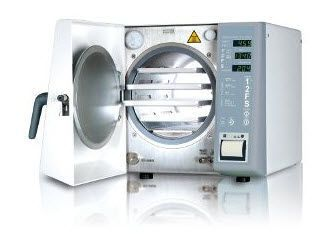 Compact autoclave / automatic / with fractionated vacuum 18 L | I.max S DENTAL X SPA