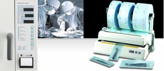 Dental thermosealer Steriline 1023 DENTAL X SPA