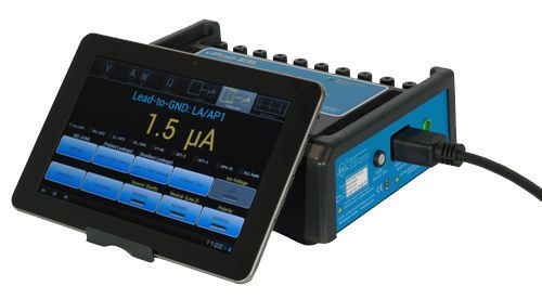 Electric safety tester / medical device vPad-ES Datrend Systems Inc.