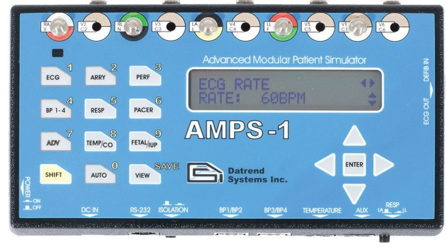 Multiparametric simulator / vital sign AMPS-1 Datrend Systems Inc.