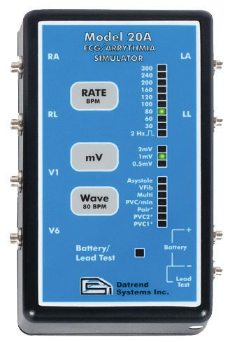 ECG simulator 20A Datrend Systems Inc.