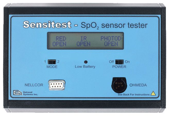 Pulse oximeter tester Sensitest Datrend Systems Inc.