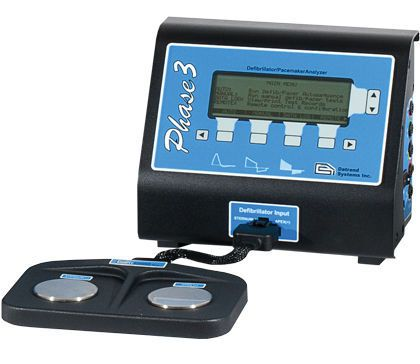 External defibrillator tester Phase 3 Datrend Systems Inc.