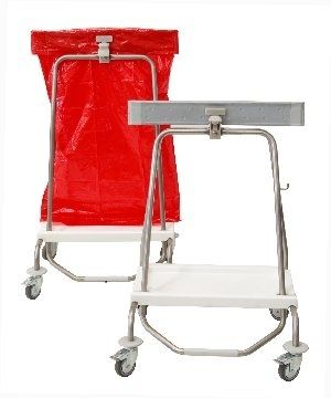 Linen trolley / with automatic closure SHUT SERIES Conf Industries